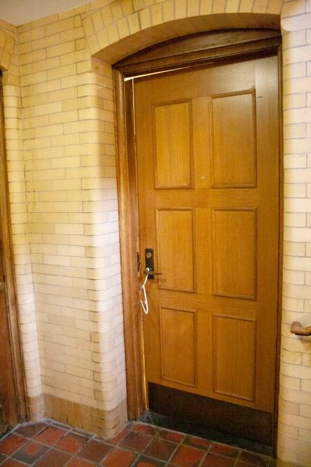 Propped Door