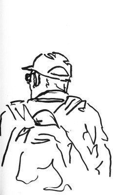 Boston BOS Backpack Man