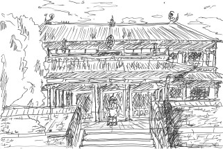 Амарбаясгалант Temple