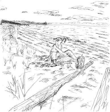 Ольхон Песчаная 2 Юля и Настя
