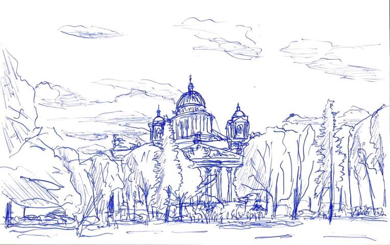 Санкт Петербург Исаакевский собор