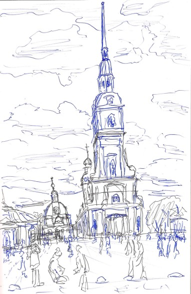 Санкт Петербург Петропавловский собор