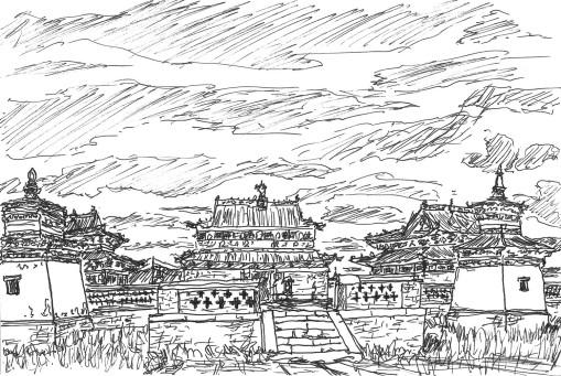 Хархорин Эрдэнэ Зуу 3 Temple