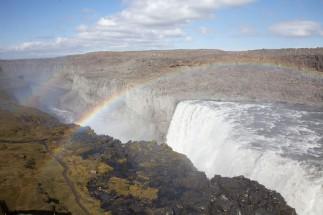 Dettifoss Double Rainbow