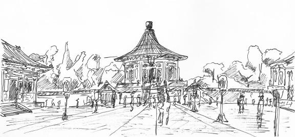 北京 天堂 Shrine