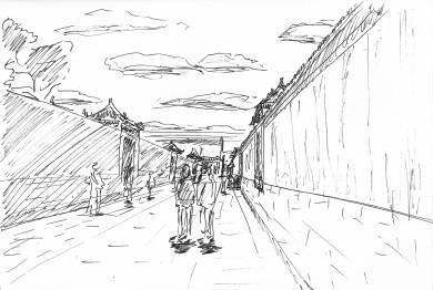北京 紫禁城 郎