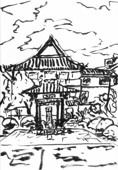 常州 常州二中 Stele Pavilion