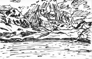 El Chaltén Laguna Capri 2