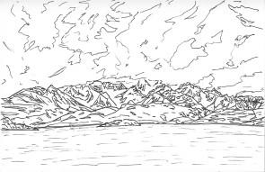 El Chaltén Laguna Capri