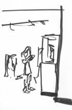 Gainesville Harn Student Sketch