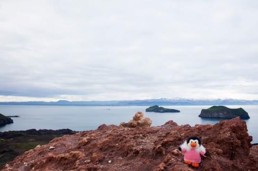 Sally on Volcano