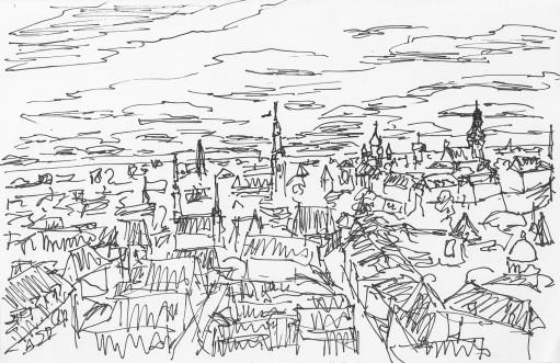 Tallinn View from Church