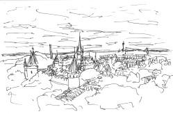Tallinn View from Parapet