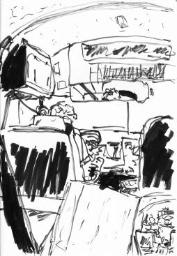 Tampa Bus Interior