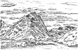 Torres del Paine Dickson Mountain