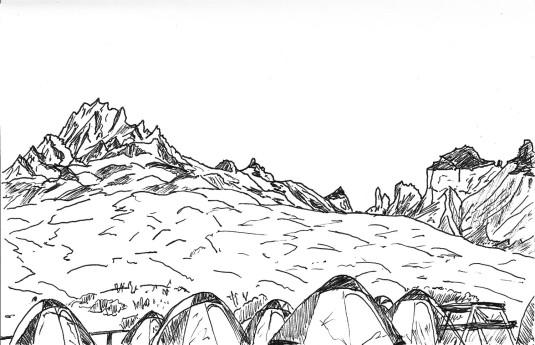 Torres del Paine Paine Grande Campamento