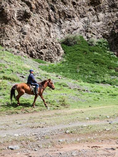 Ёлын Ам Boy on Horse