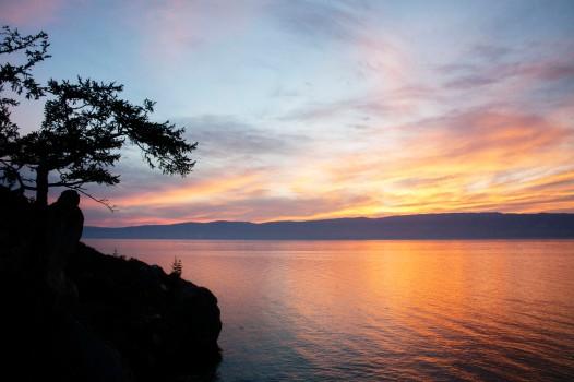 Мыс Бурхан Silhouette Sunset