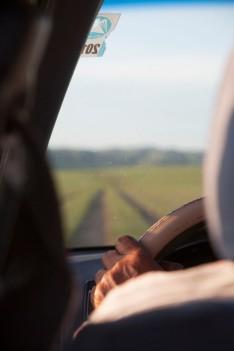 Төвхөн хийд Hand on the Wheel
