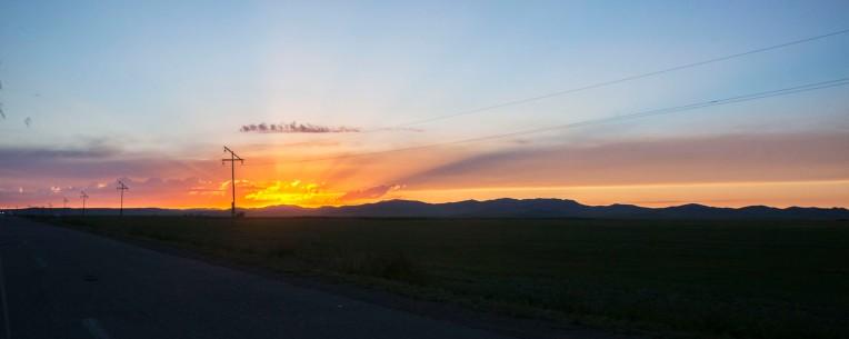 Төвхөн хийд Sunset 3