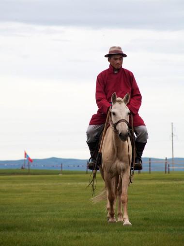 Хархорин Наадам Horse and Rider