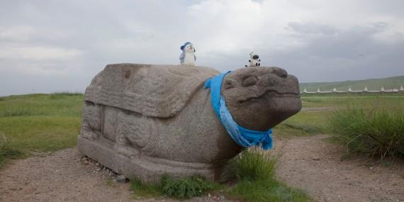 Хархорин Stone Turle with Angibles