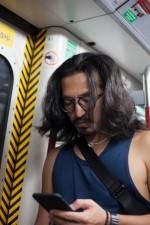 地鐵 Man on Phone
