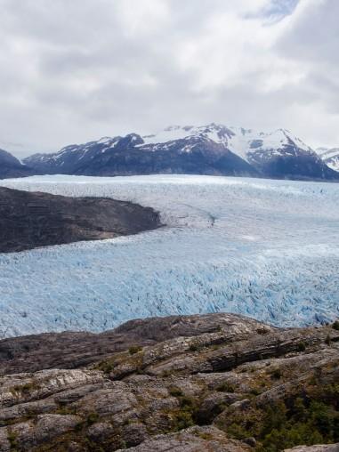 Glaciar Grey Rule of Thirds