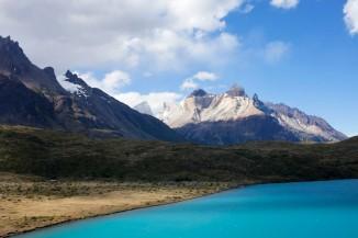 Lago Pehoé with Refugio