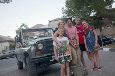 Кабардинка Джиппинг Family