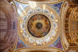 Санкт Петербург Исаакевский собор Interior