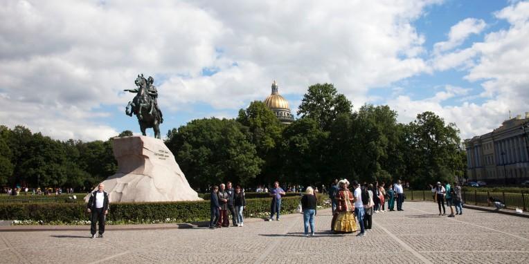 Санкт Петербург Медный всадник