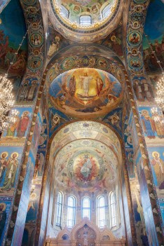 Санкт Петербург Спас на крови Interior 1