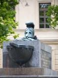 Helmet Monument
