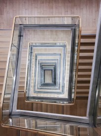 Riga National Library Stairwell