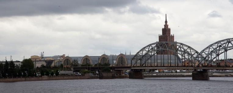 Riga River Pano
