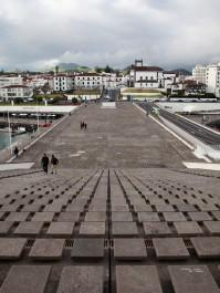 São Miguel Ponta Delgada Stairs Down
