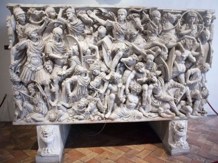 047 Ludovisi Battle Sarcophagus 2
