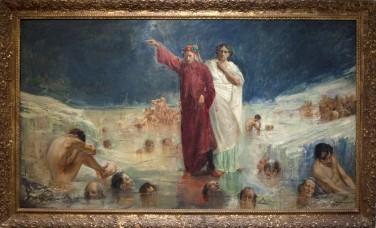 Dante y Virgilio en el Infierno - Moreno