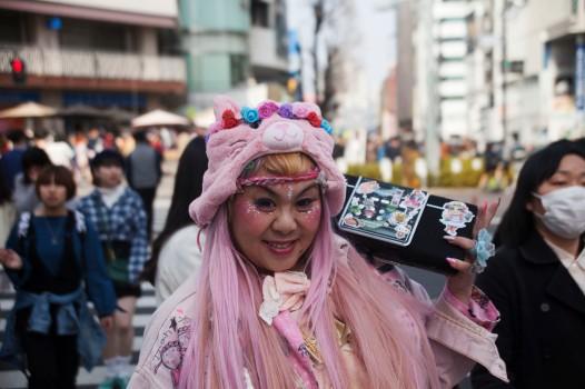 原宿 Pink Jukebox Lady