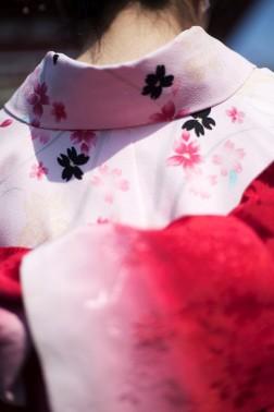 浅草寺 Pink Kimono