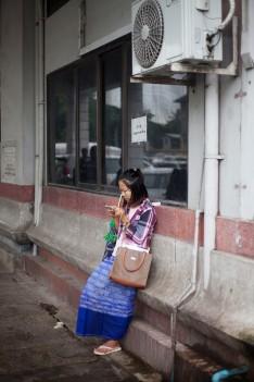 Girl Cellphone