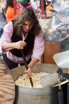 Kettle Corn Woman