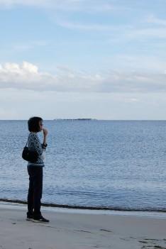 Mom Carrabelle Beach