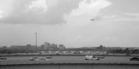 Plane over Bridge