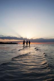 Sunset Trio