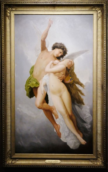 Emile Signol - The Abduction of Psyche 19th c