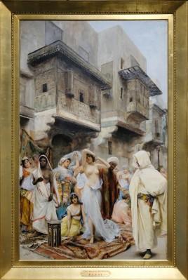 Fabbio Fabbi - The Slave Market 19th c