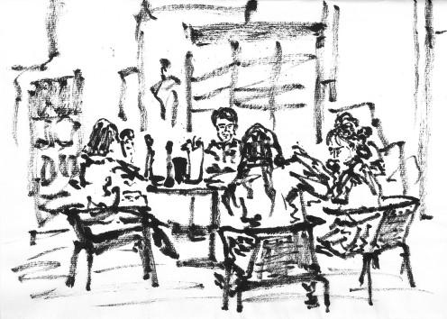 Green Sketchbook 4