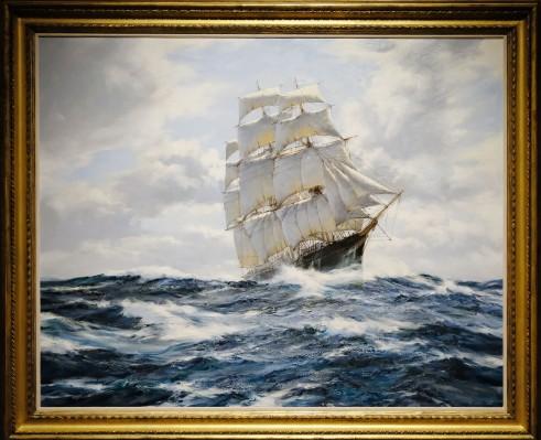 Montague Dawson - Flying Swordfish 20th c